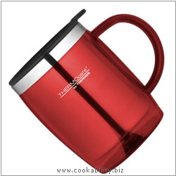 Thermos Thermocafe Desk Mug Red. Original product image, © Cookability