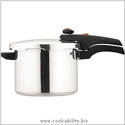 Prestige Stainless Steel Pressure Cooker. Original product image, © Cookability