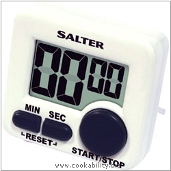 Salter Mini Electronic Timer. Original product image, © Cookability