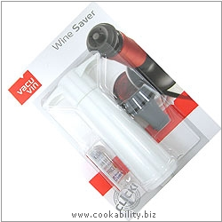 Vacu Vin Wine Saver. Original product image, © Cookability