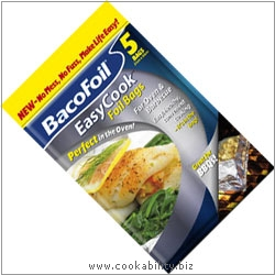 Bacofoil Easycook Foil Bags. Original product image, © Cookability