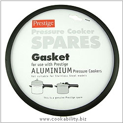 Prestige Gasket for Aluminium Cooker. Original product image, © Cookability