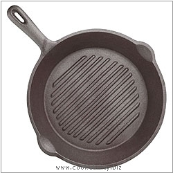 Kitchencraft Round Grill Pan. Derived work from original images, © Thomas Plant 2006 and prior, used with permission.