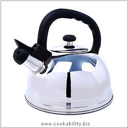 Kitchencraft Whistling Kettle. Original product image, © Cookability