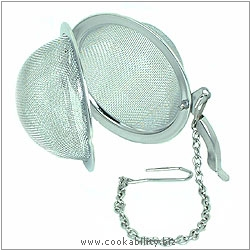 Cookability Mesh Ball Infuser. Original product image, © Cookability