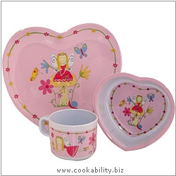 Fairy Melamine Set. Derived work from original images, © Rayware Ltd, used with permission.