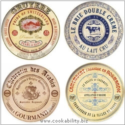 Creative Tops Cheese Plates Set of Four. Original product image, © Cookability