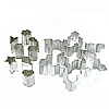 Cookability Christmas Snowflake Cookie Cutter Set