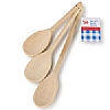 Tala Waxed Wooden Spoons Set of Three