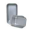 Silver Anodised Loaf Tins