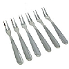 This category contains: Short Handle Meat Fork, Kitchencraft Pickle Fork - Olive Fork, Kitchencraft Onion Holder,