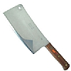 Stainless Riveted Cleaver