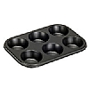 Bakeware 6 Hole Muffin Tin