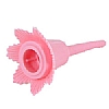 Cookability Pink Birthday Cake Candle Holder