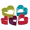 Accessories Heart Cookie Cutters Plastic