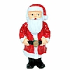 Xmas Cake Decorations Santa Standing