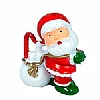 Xmas Cake Decorations Santa with Sack