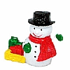 Xmas Cake Decorations Snowman with Sack