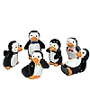 Xmas Cake Decorations Penguin Family