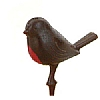 Xmas Cake Decorations Robin Redbreast