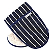 Cookability Navy Double Oven Glove