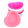 Zeal Silicone Heart Shaped Mini Muffin Moulds