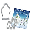 Cookability Snowman Snowdog Cookie Cutters