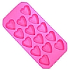 Barcraft Heart Ice Cube Tray