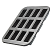 Bakeware 12 Hole Mini Loaf Tin