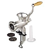 This category contains: Kitchencraft Burger Press Maker, Kitchencraft Burger Maker Wax Discs, Kitchencraft Meat Mallet,