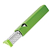 Cooks' Tools Dual Grater Coarse Ribbon Green