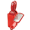 This category contains: Cooks' Tools Swiss Chop Chop, Kitchencraft Rotary Grater, Cooks' Tools Box Mandoline and Grater,