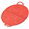 Colourful Cooks' Tools Splatter Guard Foldable Red