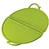 Colourful Cooks' Tools Splatter Guard Foldable Green