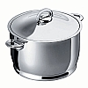 This category contains: Durotherm Chrome Stew Pot, Durotherm Chrome Pasta Pot, Daily Stockpot,