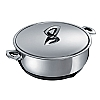 Durotherm Chrome Braising Pan