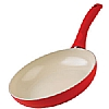 Colori Cucina Induction Frying Pan Red