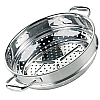 Table Cooking High Dome Wok Pan Steamer