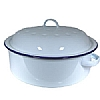 Cookability Traditional Enamel Round Roaster