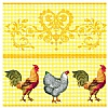 Triple-Ply Rooster Napkins
