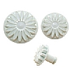 Cake Decoration Veined Flower Plunger Cutters