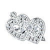 Cookability Dual Hearts Silver