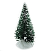 Xmas Cake Decorations Frosted Fir Tree